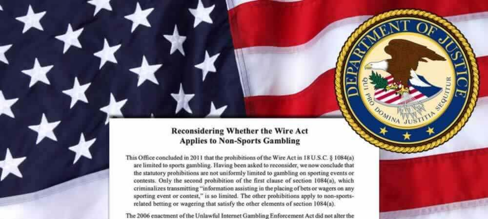 Wire Act Opinion Overruled, Benefitting Interstate Online Poker