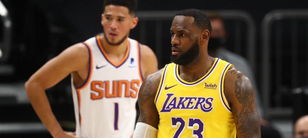 Lakers vs. Suns