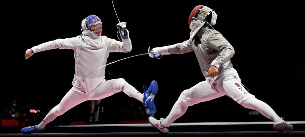 Olympic Fencing China